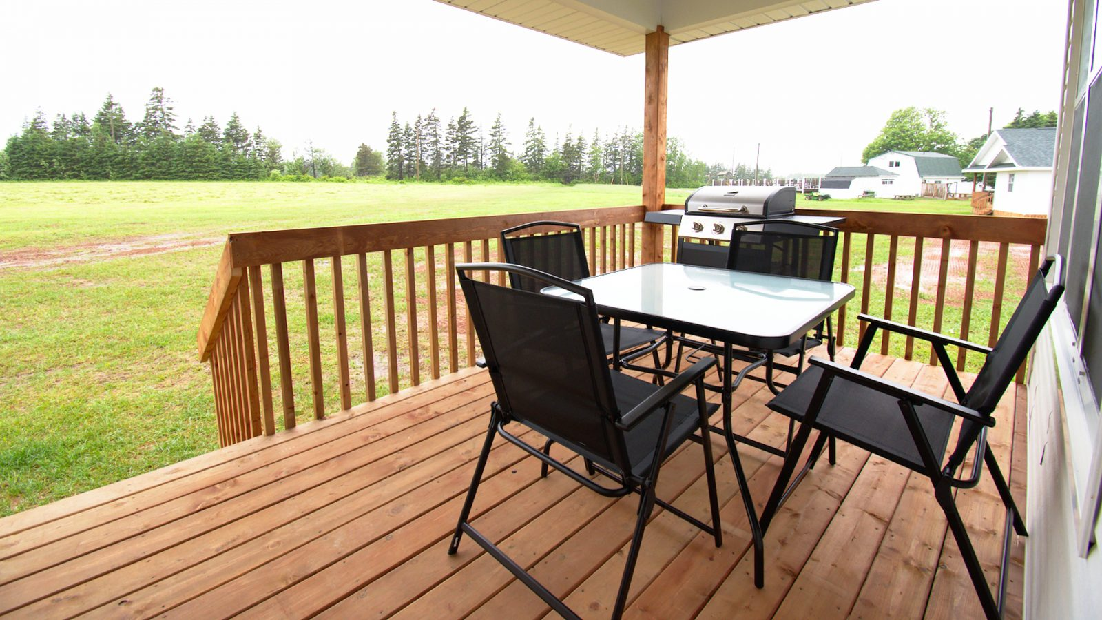 Stand-Alone Cottages - Deck