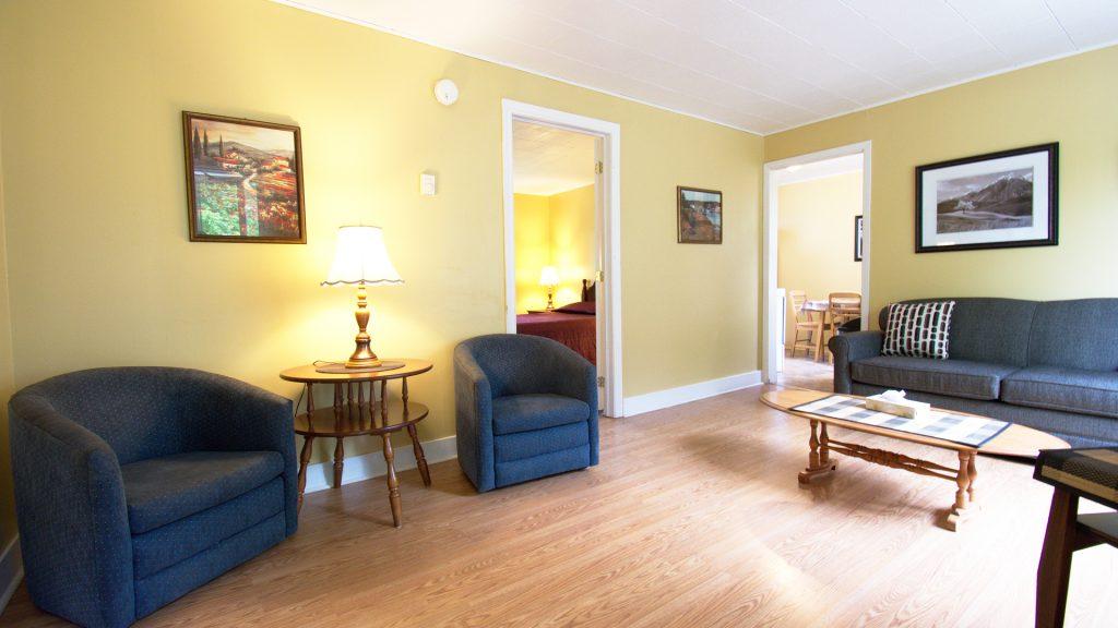 #24 Duplex Cottage - Living Area